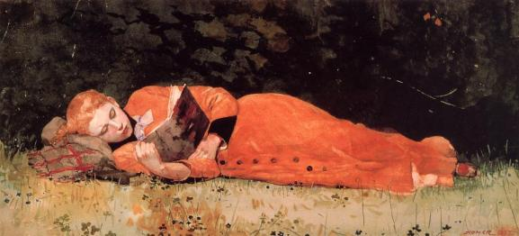 1877-winslow-homer-the-new-novel