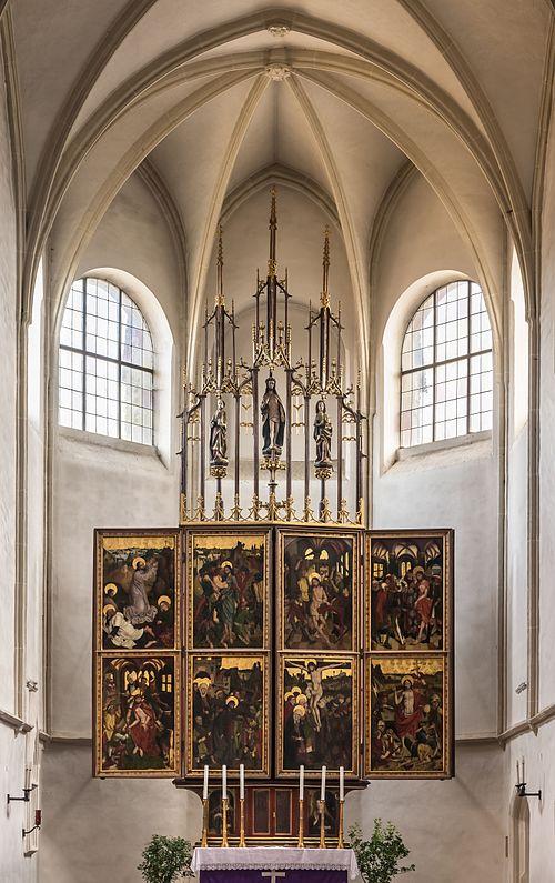 Maria_Laach_Kirche_Flügelaltar_Sonntagsseite_02